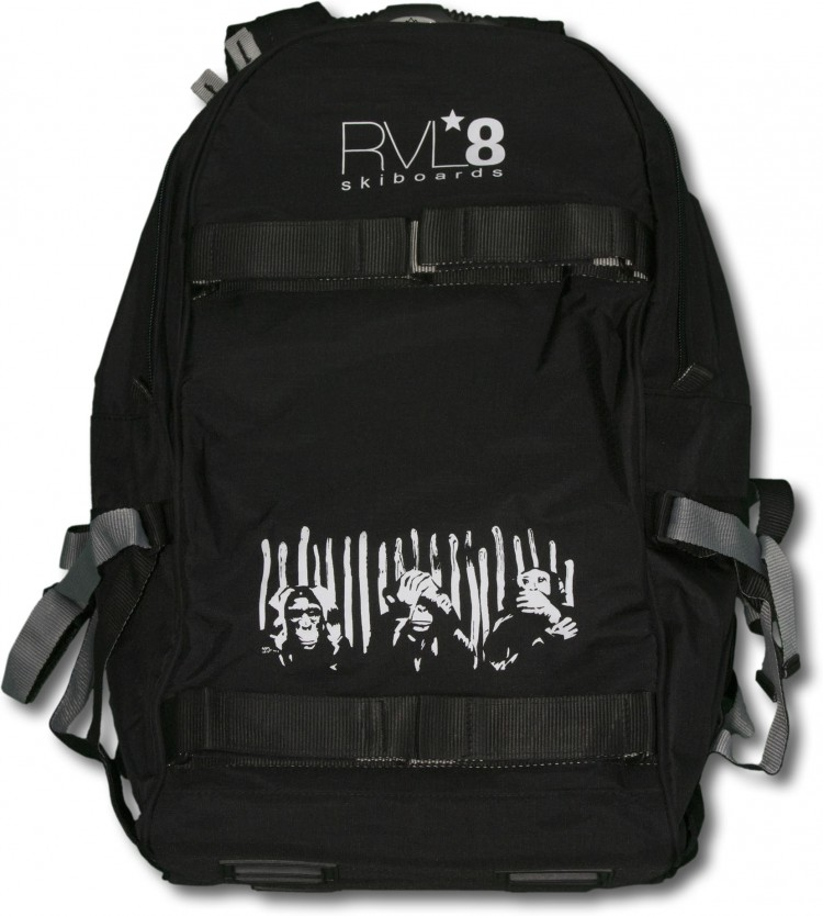 "RVL8 2014 ""Monkey"" Skiboard Backpack"